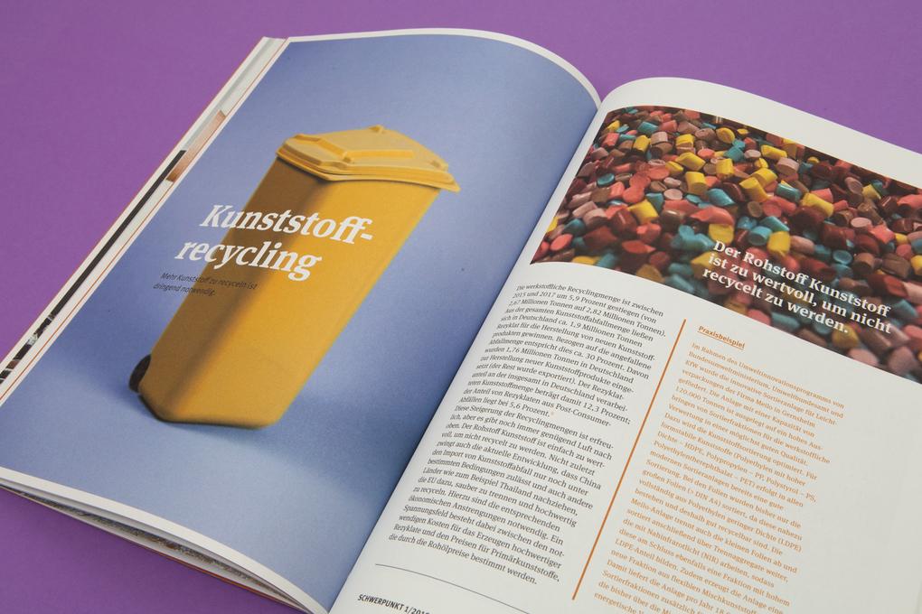 Umweltbundesamt Magazin Schwerpunkt Recycling