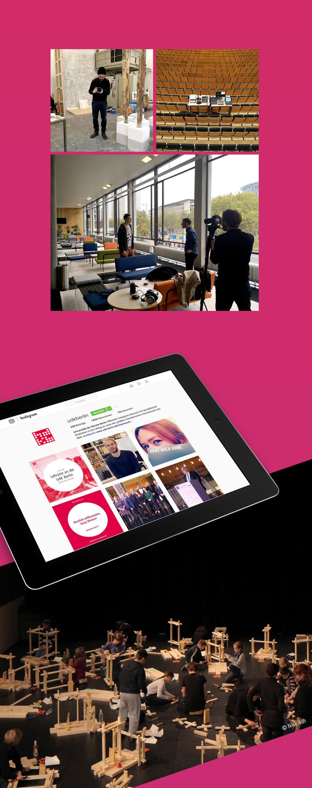 """Kampagnenwebsite für die UdK Berlin zum Thema """"Lehramt"""""""