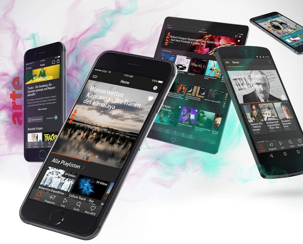 ARTE App Titelbild