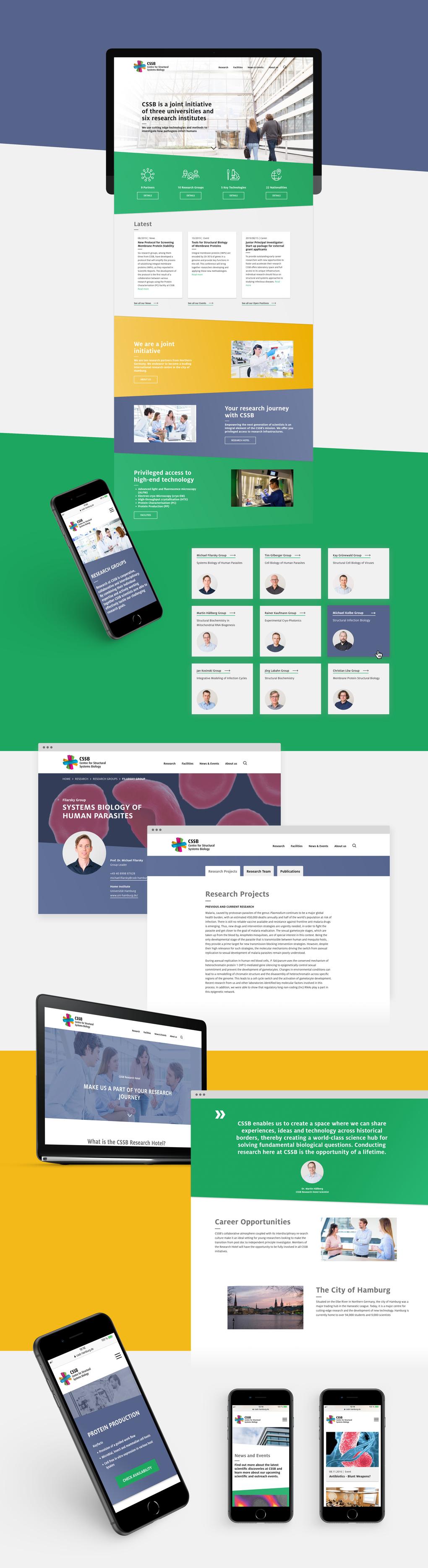 Projektaufbereitung für den Website-Relaunch des CSSB