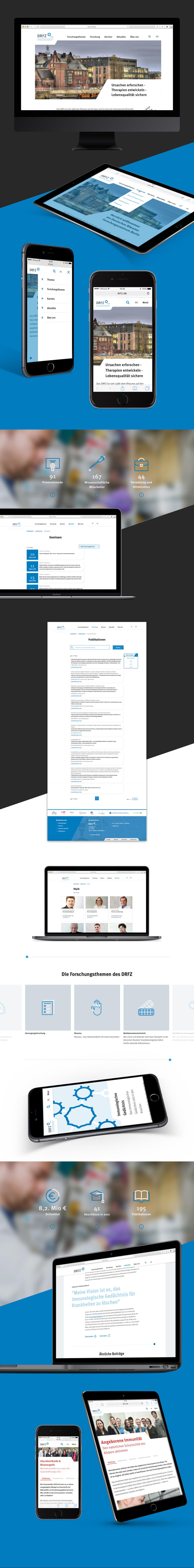 Projektaufbereitung für den Website-Relaunch von drfz.de