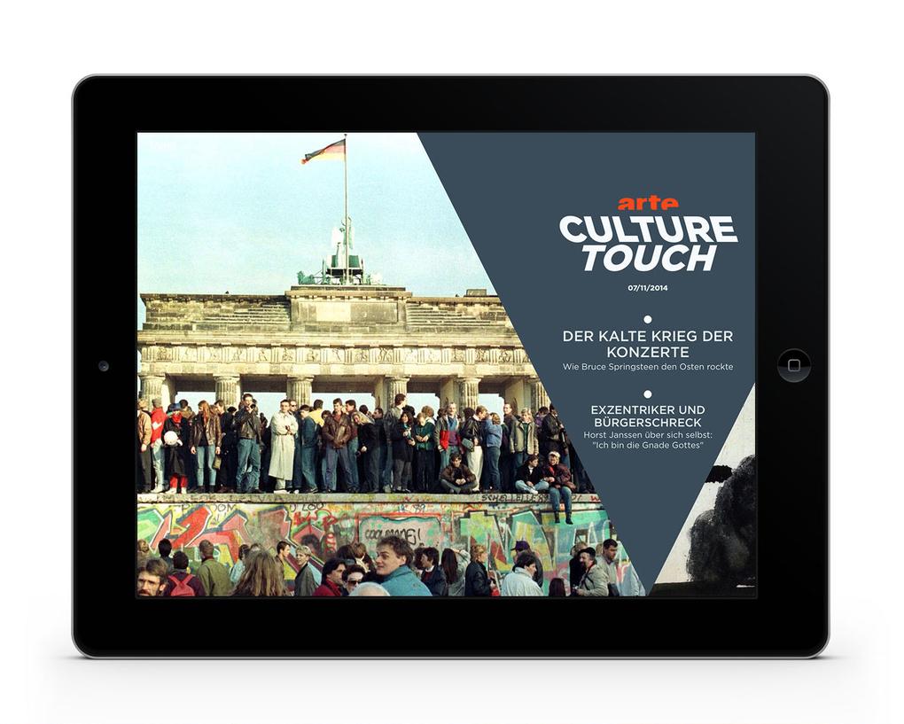 ARTE Culture Touch Einstieg