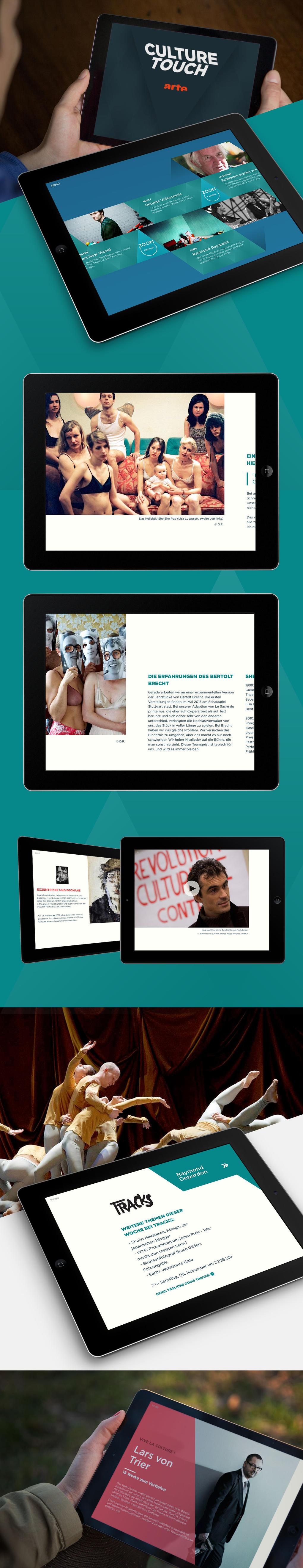 """Die Tablet-App """"Culture Touch"""" von ARTE"""