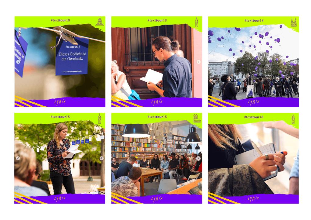 Projektaufbereitung für lyrix – den Wettbewerb für junge Lyrik