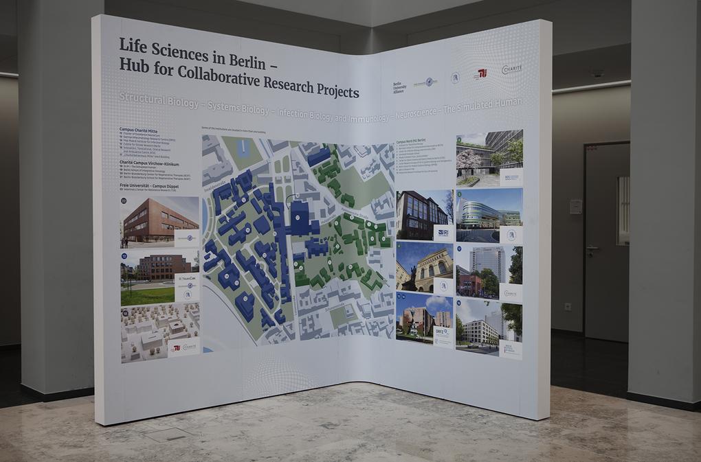 Berlin University Alliance Begehung Charité