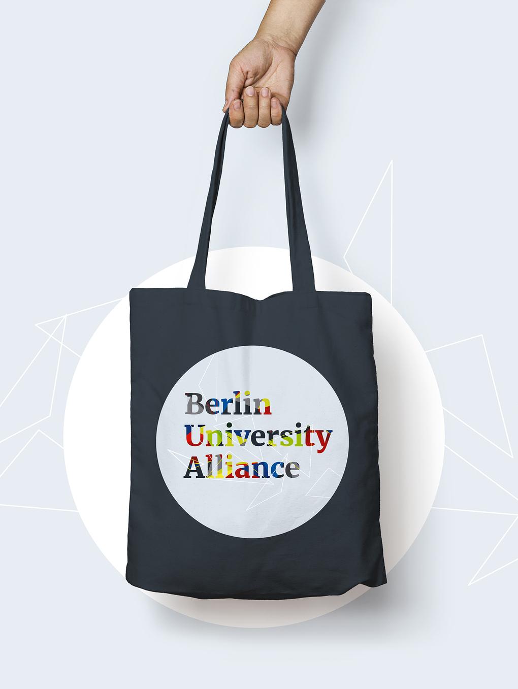 Berlin University Alliance Begehung Werbemittel