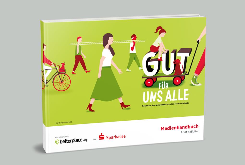 """""""Gut für ...""""-Kampagne vom betterplace.org und den Sparkassen"""