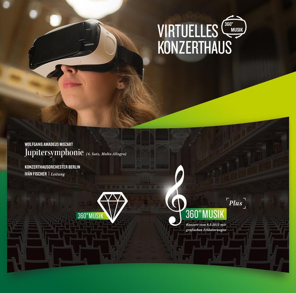 360° Freude an Mozart – Virtual Reality-Anwendung für das Konzerthaus Berlin