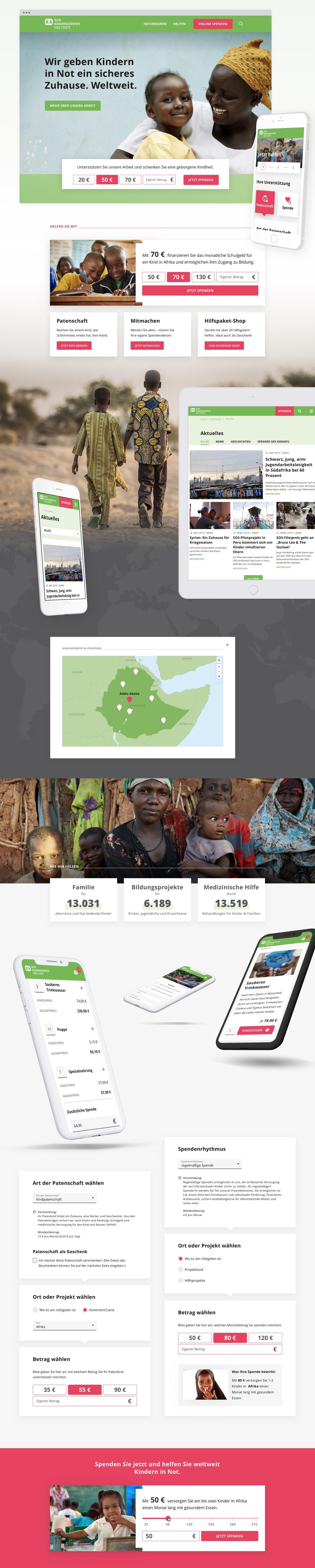 Projektaufbereitung für den Website-Relaunch von SOS-Kinderdörfer weltweit