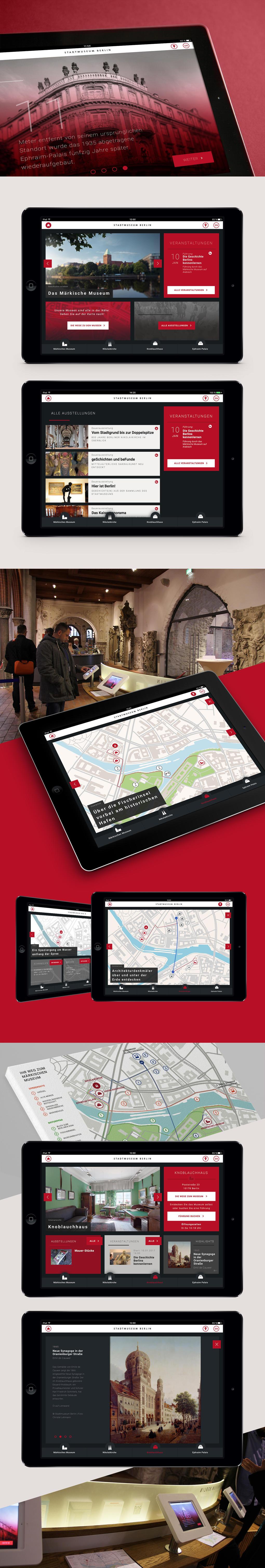 Projektaufbereitung für die Tablet-Anwendung in der Nikolaikirche Berlin