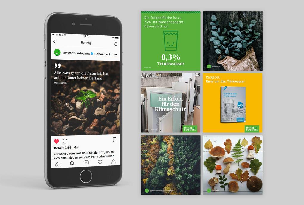 Social Media Engagement für das Umweltbundesamt